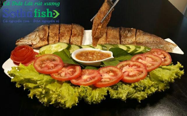 Cá thát lát rút xương chiên giòn nguyên con Sothafish
