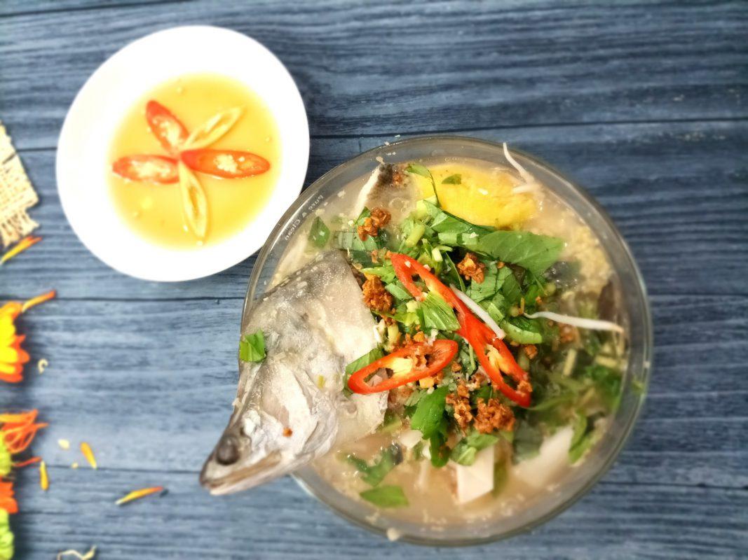 cá thát lát rút xương nấu măng